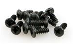 ROUND HEAD SELF TAPPING SCREW 3x8 (12)